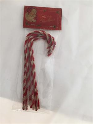 Christmas Candy Cane Ornaments